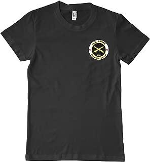 U.S. Army MOS 13S Field Artillery Surveyor Military T-Shirt 100% Cotton Black
