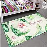 /Llama o Flamingo Flamingo YoL design colorato cestino cute Home Office plastica cestino pattumiera/
