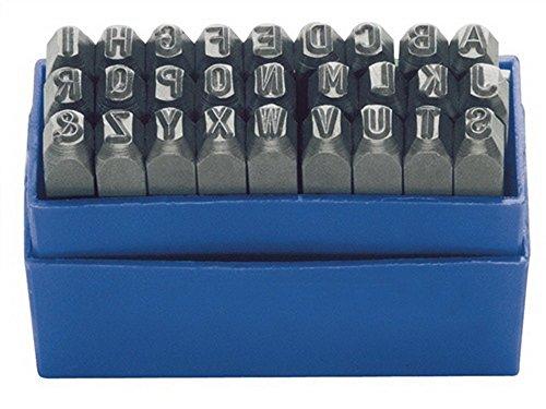 Turnus Schlagbuchstaben 27Tlg. Schrift-H.10mm Großbuchstab.A-Z Din1451-329-210