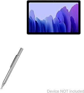 BoxWave Caneta Stylus para Samsung Galaxy Tab A7 (7 polegadas), capacitiva FineTouch superprecisa, prata metálica