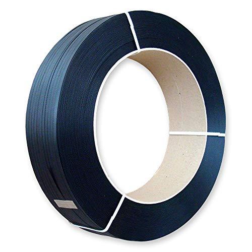 2500 m PP Umreifungsband 12,7 x 0,5 mm Kern 406 für Umreifungsgerät, reißfest bis 170 kg - Kunststoff-Band für Umreifung