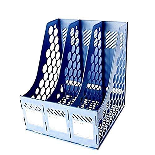 Z-SEAT Organisateur de Bureau Magazine Cadres Diviseurs de fichier Titulaires Porte-Documents Présentoirs 3 Sections Conception Boîte de Rangement en Maille