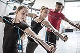 aeroSling® Sling Trainer Elite Plus I Cinghie di sospensione da allenamento I Con puleggia, ancoraggio da porta, video tutorial e piano di allenamento I Attrezzatura fitness palestra domestica