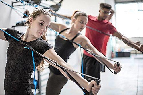 aeroSling Elite Plus, Sling Trainer professionale con puleggia, Entrenador de suspensión con fissaggio per porta, DVD-online, poster