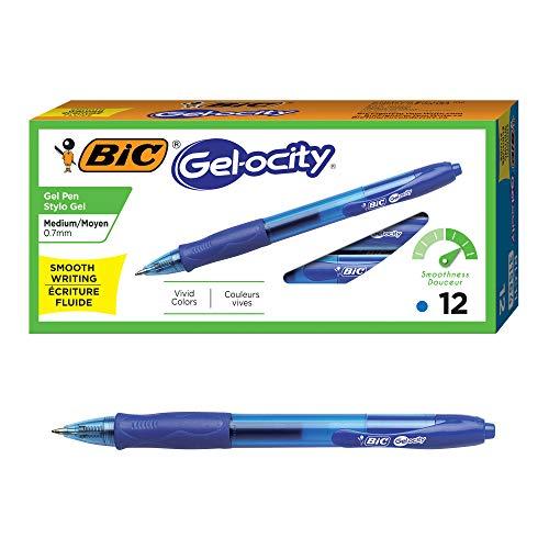 (79% OFF Deal) BLUE Gel-ocity Retractable Gel Pen 12-pack $4.70