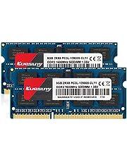 PC3L-12800ノートPC用メモリ DDR3 1600(PC3L-12800S) 8GB×2枚 1.35V (低電圧) 204Pin CL11 Non-ECC SODIMM PC3-12800