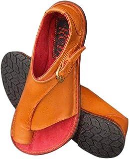 49fb6cb0 Goglor Cómodos Zapatos Ortopedicos Mujer Plataformas Planas Sandalias, Toe  Bunion Terapia Corrección Sandalias Mujer Niña