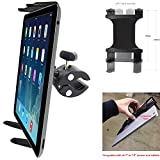 """ChargerCity XT Boat Helm Spin Bike Tablet Mount with Universal Tablet Cradle Holder for Apple iPad Pro, iPad Air, iPad Mini, Samsung Galaxy Tab S, Surface Pro Book & All Other 7""""-12"""" Screen Tablets"""