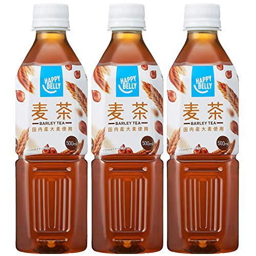 Amazon Happy-Belly 麦茶 500ml×3本