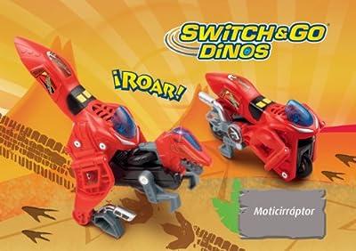 VTech - Dinosaurio convertible, Swich&Go de Vtech