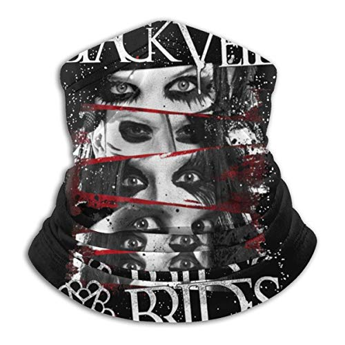 Black Veil Brides Music and Art Band Warm Scarf Headscarf Mask, Dustproof and Windproof Balaclava. Outdoor Sports Essentials