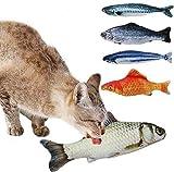 Tacobear 5 pezzi Catnip Giocattoli per Gatti simulazione peluche...