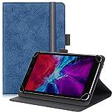 Transwon 9-10.1 Inch Universal Case for ONN 10.1 Tablet, Hyjoy 9 Inch Tablet, Vastking Kingpad SA10, Digiland DL1036, AZPEN Tablet 10.1, Fusion5 10.1, Lectrus/MEIZE/ANTEMPER/NETPAL Tablet - Navy