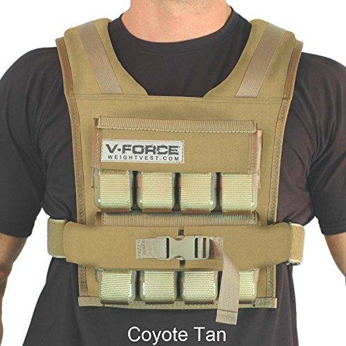 V-Force 40 lb (Coyote Tan, 3-1/4' Narrow Shoulders)