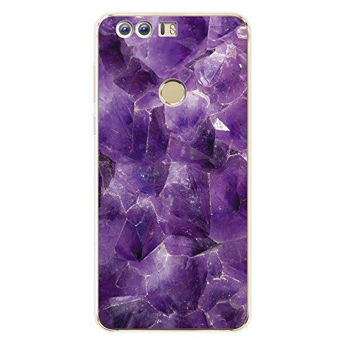 Easbuy Marmor Pattern Handy Hülle Soft Silikon Hülle Etui Tasche für Huawei GR3/Enjoy 5s/Huawei P8 Lite Smart/G8 Mini Smartphone Cover Handytasche Handyhülle Schutzhülle