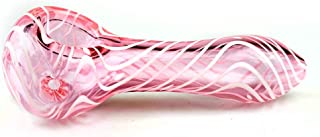 ZYM4-Inch Men and Women Collection Tube, Portable RT Tube, Spiral Stripe Pink Art Collection
