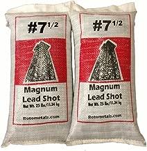 Magnum Lead Shot #7.5 50 pounds 2-25 Pound Bags