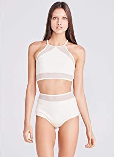 Top Mari Calcinha Hot Pant Off White