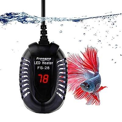 FREESEA Aquarium Fish Tank Submersible Heater ?50W/75W/100W? with LED Temperature Display