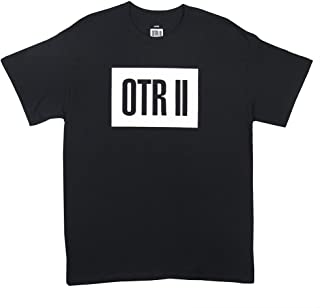 Jay-Z OTR II Logo Tour Tee (Black)