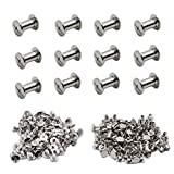 ZXHAO M5 Chicago Binding Screws Sex Bolt Barrel nut Barrel Bolt Post Screw 100pcs (5x10)...