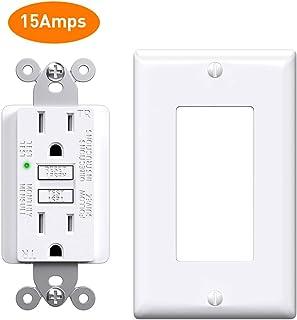 Afci Gfci Outlet 15 Amp