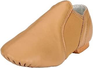 MSMAX White Leather Full Sole Casual Slipper Ballet Flat,Big Kid,7M US