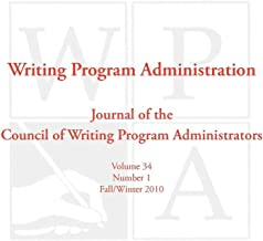 WPA: Writing Program Administration 34.1