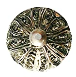 Ornamental Silver Filigree Knob - Single Unit