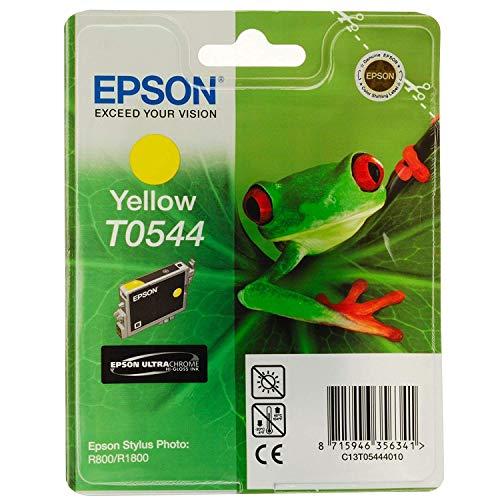 EPSON TINTA ORIGINAL AMARILLO 400 PAG. STYLUS PHOTO R/800/1800