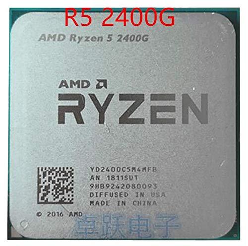 Ryzen 5 2400G R5 2400G 3.6 GHz Quad-Core Quad-Thread 65W CPU Processor YD2400C5M4MFB Socket AM4