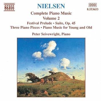 NIELSEN, C.: Piano Music, Vol.  2