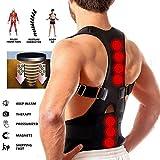 keton Magnetic Back Brace Posture Corrector Therapy Shoulder Belt for Lower and Upper