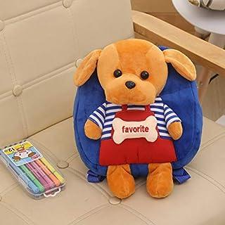 TEKUDA Plush Backpacks - Kids Cute Cartoon Dog Plush Backpack Boys Girls  Soft Sweet Lovely Bags ece24ee9dcfee