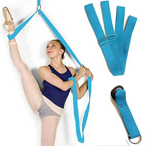 Integrity.1 Stretching Leg Strap,Tanz Stretchband,Dehnungsband für Ballett,Premium Stretching Ausrüstung,Verstellbarer Beinstrecker,für Yoga, Ballett, Tanz und Gymnastik