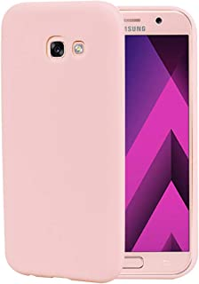 ec6071d46cf CoqueCase Funda para Samsung Galaxy A3 2017 Silicona Suave Flexible  Antigolpes Goma Ultra Delgado Caso Color