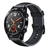 "HUAWEI Watch GT - GPS Smartwatch with 1.39"" AMOLED Touchscreen, 2-Week Battery Life, 24/7 Continuous Heart Rate Tracking, Multiple Outdoor and Indoor Activities, 5ATM Waterproof, Black"