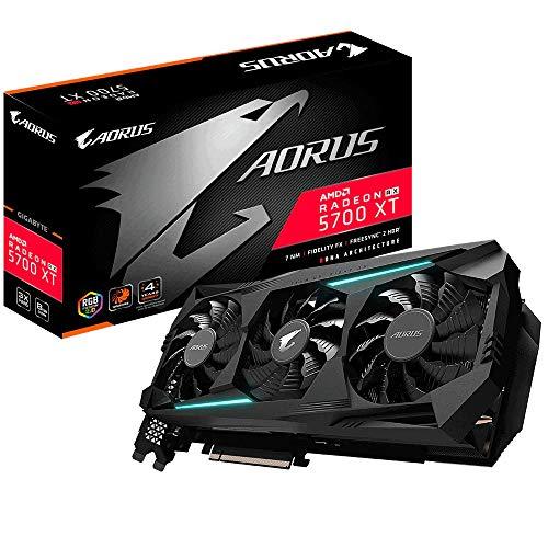 Gigabyte AORUS AMD Radeon RX 5700 XT 8G 8GB GDDR6 Grafikkarte 3xHDMI/3xDP