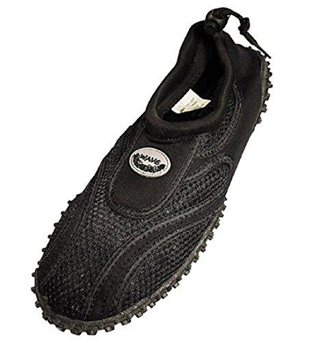 Mens Wave Aqua Shoes Black / Light Grey 10