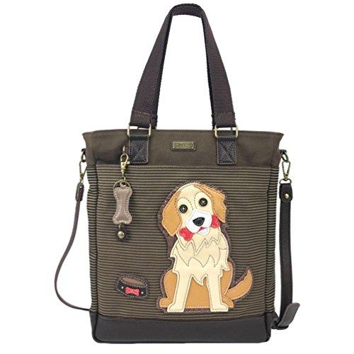 Chala Golden Retriever Work Tote Shoulder Bag - Dog Lovers Gifts
