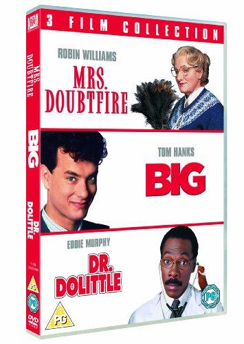 Mrs. Doubtfire / Big / Dr. Dolittle Triple Pack [DVD] [1988]