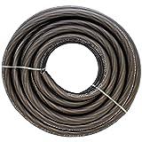 Seismic Audio - SA-0GAPGC04-25 Foot 4 Gauge Power Amplifier Ground/Power Wire for Car Audio - Black Amp Wire