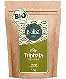 Polvo de triphala orgánico - 200 g ? de amalaki, haritaki y bibhitaki ? triphala orgánico ayurvédico ? llenado y verificado en Alemania (DE-ÖKO-005) - 100% vegano