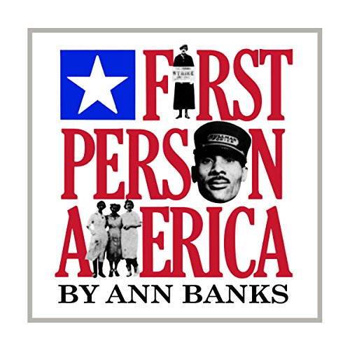 First-Person America audiobook cover art