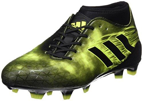 adidas Adizero Malice Fg, Men's Rugby Boots, Black, 6.5 UK (40 EU)