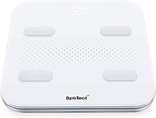 OptiTect Smart scale with Latest Technology body scale wireless Bluetooth connection for gym with digital display weight s...