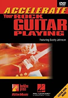 Hal Leonard Accelerate Your Rock Guitar Playing featuring Scotty Johnson (DVD)