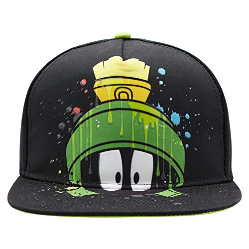 SPACE JAM Mens Baseball Hat Tune Squad, Monstars, Marvin The Martian & Bugs Bunny Logo Curved Brim, Adjustable Cap - (Unisex)