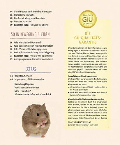Hamster: Pflege-Einmaleins für kleine Solokünstler (GU Tierratgeber) - 10