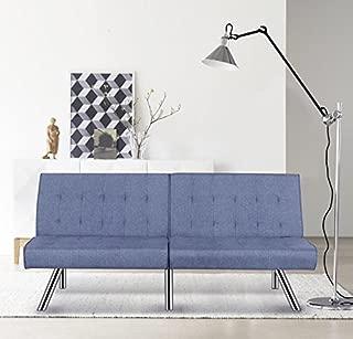 Container Furniture Direct Jayden Modern Convertible Sleeper Sofa Futon Bed, 68